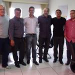 Prefeito Edgar Rossi recebe Deputado Rasca Rodrigues e solicita construção de Pontes