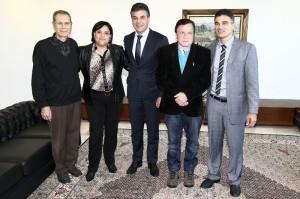 Richa libera obras em Pontal do Paraná