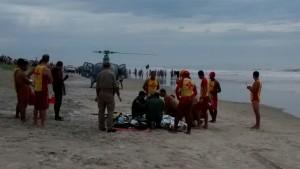 Corpo de Bombeiros da PM registra primeiro afogamento no litoral