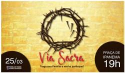 Paixão de cristo em Pontal do Paraná